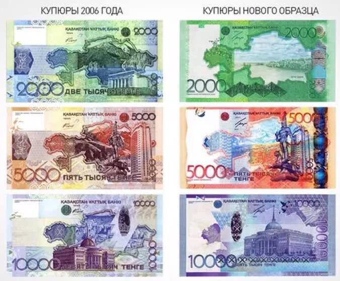 Новые деньги образца 2017 года